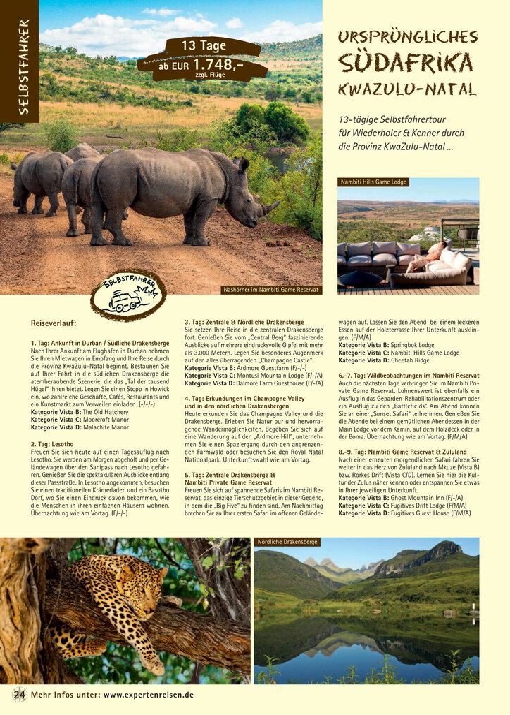 d39b1f09d2f07b TerraVista - Südafrika-Katalog 2018.